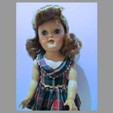 Vintage Ideal Toni Doll, P-91 w/Red Hair, 1950