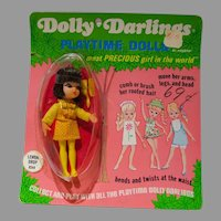 NRFC Hasbro Dolly Darlings Lemon Drop Doll, 1968