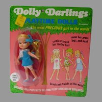 OLd Store Stock Dolly Darlin'  Fancy Pants NRFC, Hasbro, 1968
