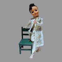 "Vintage 19"" Uneeda Dollikin in Original Outfit, 1958"