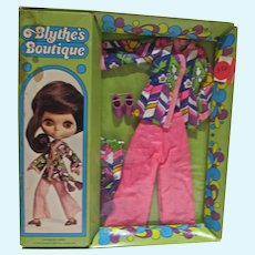 Rare MIB Kenner Blythe Outfit, Lounging Lovely, 1972
