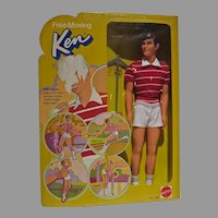 Vintage Mattel NRFB Free Moving Ken Doll, 1974
