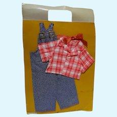 "MOC Ideal 15"" Shirley Temple Rebecca of Sunnybrook Farm Outfit, 1974"