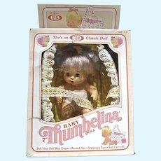 """MIB Ideal 7"""" Baby Thumbelina Doll,  1982-83"""