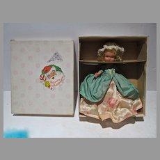 MIB Bisque Nancy Ann Storybook Doll, Colonial Dame #56, 1940's