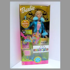 """NRFB Tors """"R"""" Us TImes Square NY Exclusive Barbie Doll"""