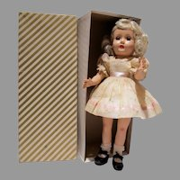 "1951 Effanbee  14""Honey Tintair Doll Mint with Box"