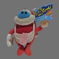 Mattel Vintage Stimpy Plush FIgures, 1992