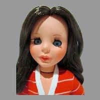 "Furga 1960's Fashion Doll, Vittoria, 15"" Alta Mode Doll, 1969"