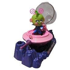 Vintage Mattel Kozmic Kiddle Greenie Meenie, 1969, Mint&Complete!