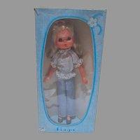 Vintage NRFB Furga Graziella 12 Inch Fashion Doll, 1970's
