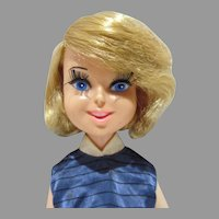 "1960's Bonnie Blue Ribbon 17"" Fashion Doll, Perfekta"