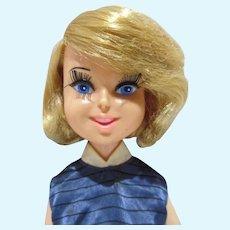 """1960's Bonnie Blue Ribbon 17"""" Fashion Doll, Perfekta"""