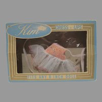 "Vintage MIB Kim Doll Dress for 8"" Dolls, 1956-57"