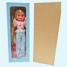 "MIB Furga Lisa Jean 12"" Fashion Doll, 1970's"