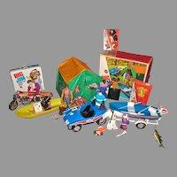 Huge Mattel Big Jim Collection, 1970's