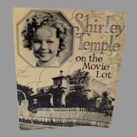 Vintage Shirley Temple On the Movie Lot, 1936, Book, Rare!
