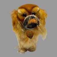 Vintage Steiff Peky, Pekinese Dog, w/Tags, 1960's