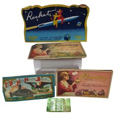 Vintage Sewing Needles on Card, 1920's - 1950's