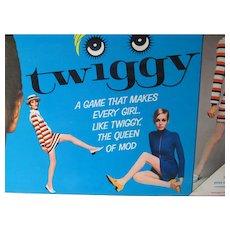 Milton Bradley 1967 Twiggy Board Game, Complete!