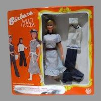 """Rare, NRFB Barbara Mulit Moda, 11 1/2"""" Fashion Doll, Mexico, Lili Ledy"""