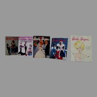 Collection of miniature Barbie Magazines by Rebecca's Miniatures, 1990's