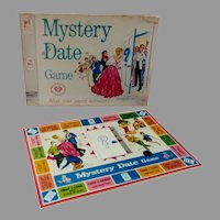 Miniature Mystery Date Game by Rebecca's Miniatures, 1990's