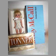 "NRFB Robert Tonner Platinum Blond 8"" Betsy McCall Doll"