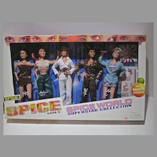 Vintage NRFB Spice GIrls Spice World Superstar Collection Gift Set, 1998,Galoob Toys