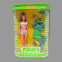 Mattel 30th Anniversary Francie Doll, NRFB, 1996