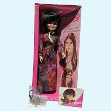 """Vintage Hasbro 18"""" Aimee Doll MIB, 1972"""