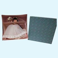 NRFB Madame Alexander-kin Bride Doll, 1970, Beautiful!!