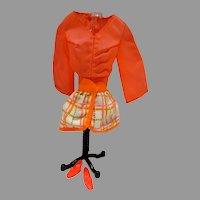 Vintage Mattel Barbie Outfit, Tangerine Scene, 1970