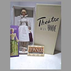 Robert Tonner Purely Platinum Theatre De La Mode Tyler Wentworth Doll, NRFB