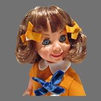 Rare Italian Ratti Clone Doll, All Original 1960's