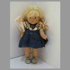 Vintage Vogue Toddles Composition 1945-49, Eight Inches Tall