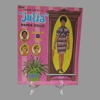 "Mint Un-Used Diahann Carroll as ""Julia"" Paper Dolls, 1971 Artcraft"