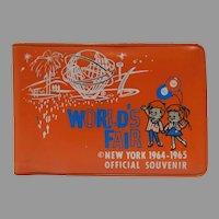 Mint 1964-65 New York World's Fair Vinyl Wallet/Coin Holder