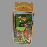 Mattel The Sunshine Family Pets and Their World, MIB, 1975