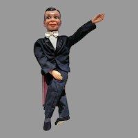 Vintage 1968 Charlie McCarty Ventriloquist Doll, Juro