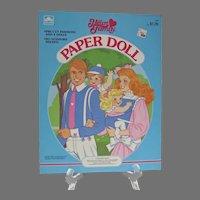 Mint Un-Cut The Heart Family Paper Dolls, 1985, Golden