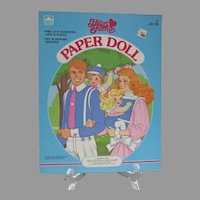 Mint Un-Cut The Heart Family Paper Dolls, 1985, Golden