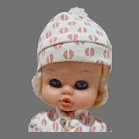Horseman Pooty Tat Big Eyed Doll, 1970
