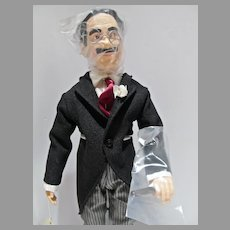 Vintage Effanbee Groucho Marx Doll, 1983, Legend's Series