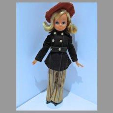 Vintage Late 1960's Italian Fashion BIg Eyed Doll