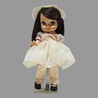 Vintage 1965 Royal Doll, Joy, Big Eyed Doll