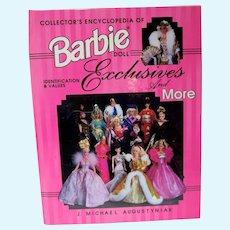 OOP Book, Collector's Encyclopedia of Barbie Doll Exclusives, J/M/Augustyniak, 1997