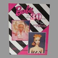 OOP Book Barbie The First 30 Years, 1959-1989, Stefanie Deutsch, Mint