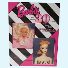 OOP Book Barbie The First 30 Years, 1959-1989, Stefanie Deutsch, Mint