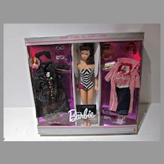 Mattel Barbie 35th Anniversary Repro Convention Brunette Gift Set, 1993, NRFB